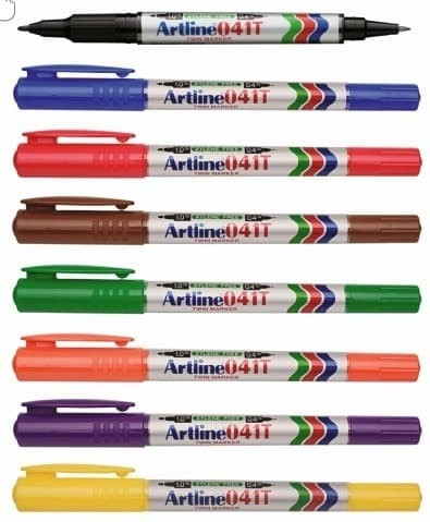 Supplier ATK Artline 041T Twin Marker Harga Grosir