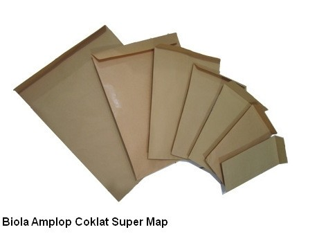 Biola Amplop Coklat Super Map
