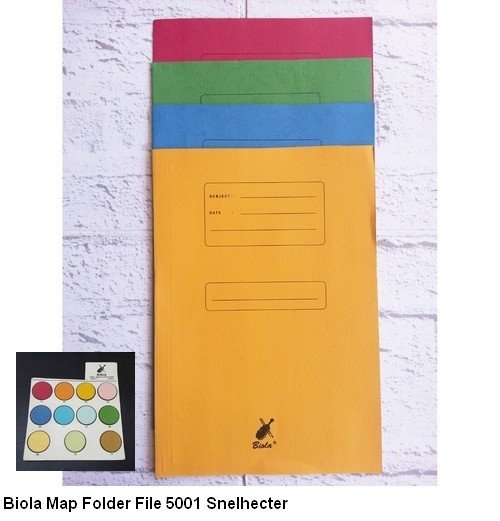 Biola Map Folder File 5001 Snelhecter