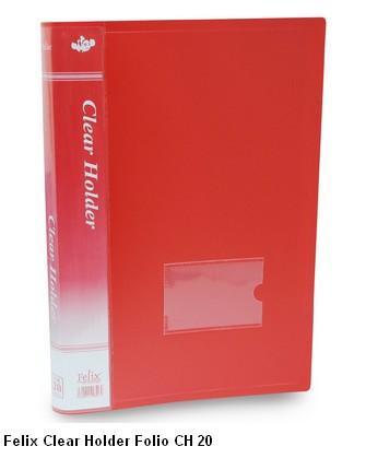 Supplier ATK Felix Clear Holder Folio CH 20  Harga Grosir