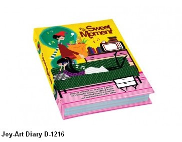 Supplier ATK Joy-Art Buku Diary D-1216 Harga Grosir