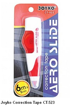 Supplier ATK Joyko Correction Tape CT-523 Harga Grosir