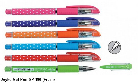Supplier ATK Joyko Gel Pen GP-180 (Fresh) Harga Grosir