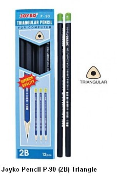 Supplier ATK Joyko Pensil P-90 (2B) Triangle Harga Grosir