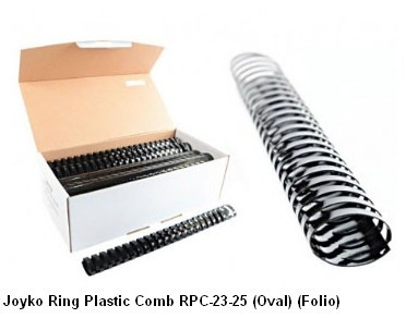 Supplier ATK Joyko Ring Plastic Comb RPC-23-25 (Oval) (Folio) Harga Grosir