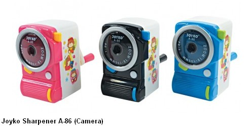 Supplier ATK Joyko Serutan Pensil A-86 (Camera) Harga Grosir