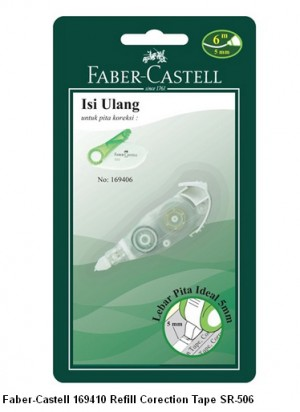 Supplier ATK Faber Castel 169410 Refill Correction Tape SR-506 Harga Grosir